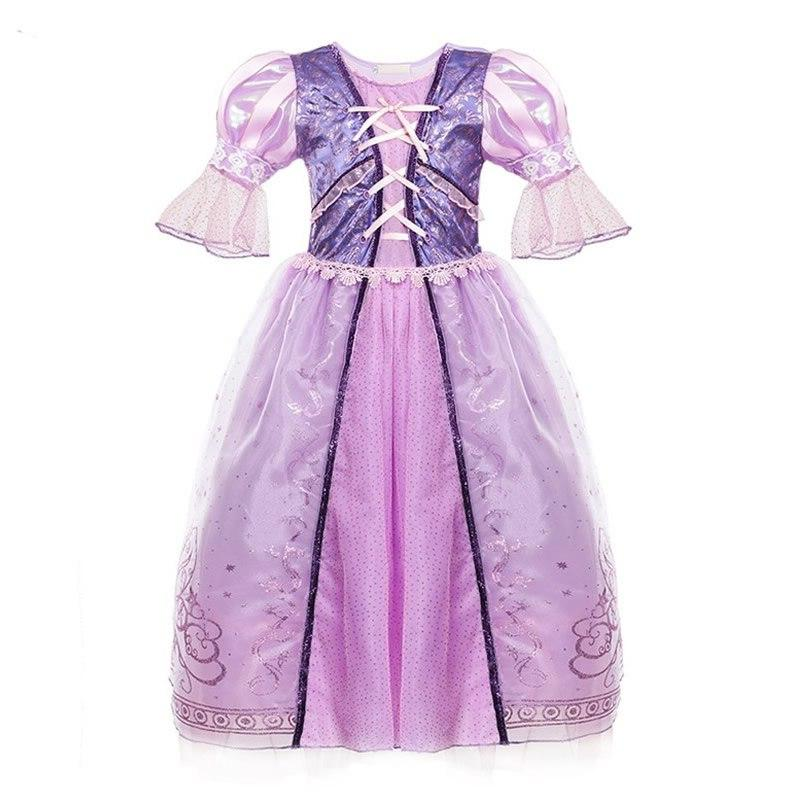 <font><b>Girls</b></font> <font><b>Kids</b></font> Fancy Princess Cartoon Modeling Toddler Ball Gown Party