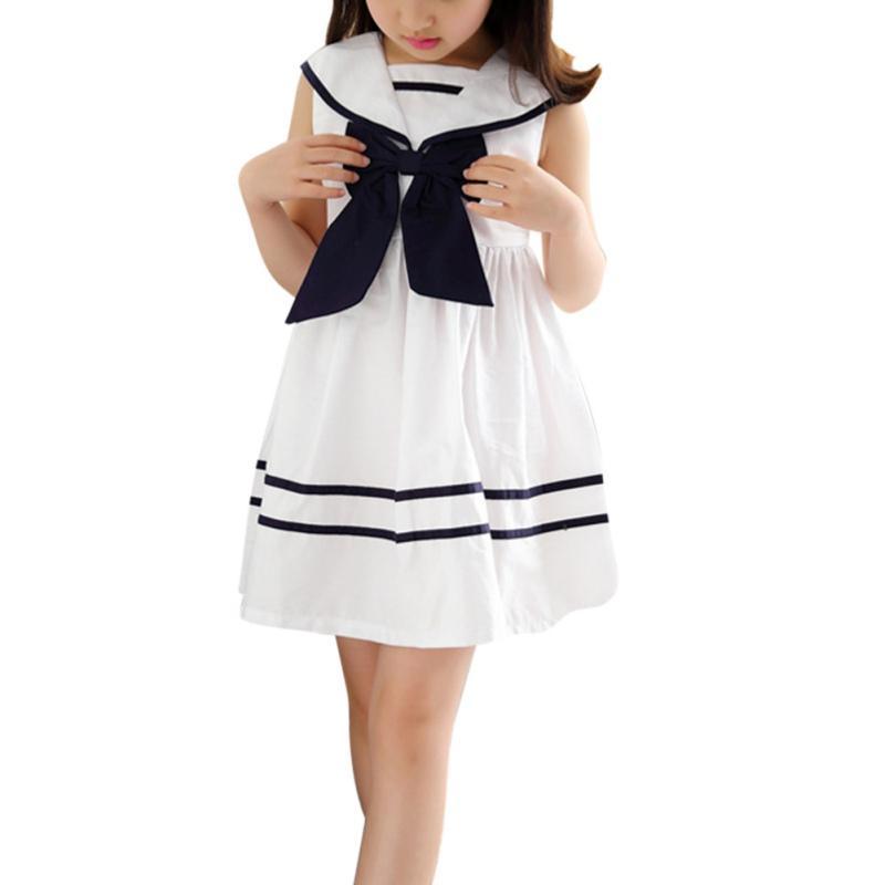 <font><b>Kids</b></font> Baby School Sailor Bow <font><b>Navy</b></font> Suit Party