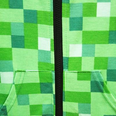 <font><b>kids</b></font> <font><b>Girls</b></font> Outwear Minecrafters Sweatshirts Long Shirt Jacket