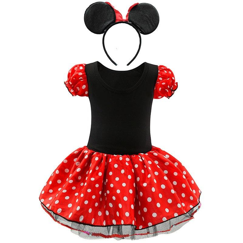 <font><b>Kids</b></font> Mouse Dress <font><b>Girls</b></font> Clothes Children Birthday Carnival Party <font><b>Costume</b></font> and <font><b>Accessories</b></font>