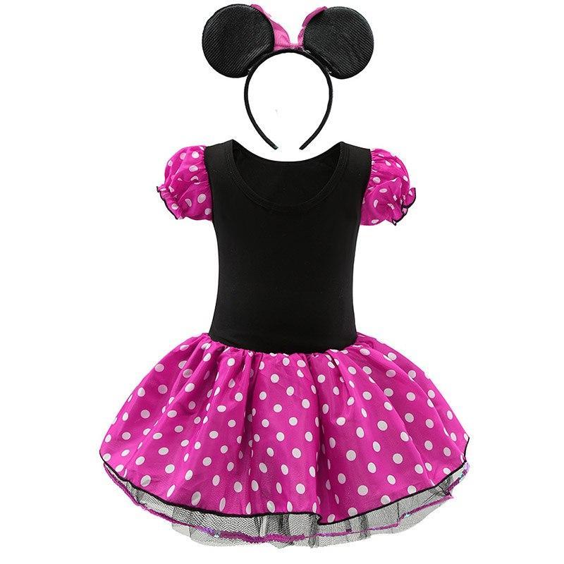 <font><b>Kids</b></font> Mickey Dress <font><b>Girls</b></font> Clothes Children Party and and <font><b>Accessories</b></font>