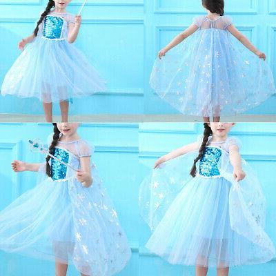 Frozen Elsa Dress Fancy for Girls