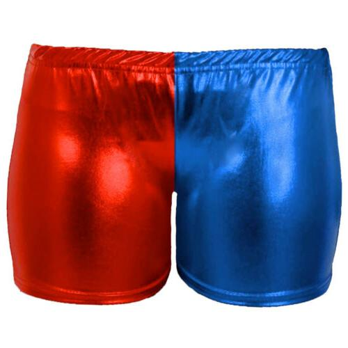 gilrs harley quinn shorts cosplay costume suicide