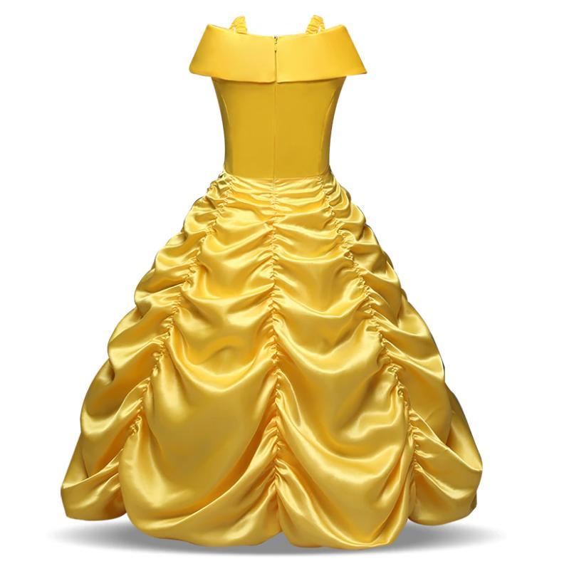 Children Girls Beauty and the Beast Belle Dress UP B1