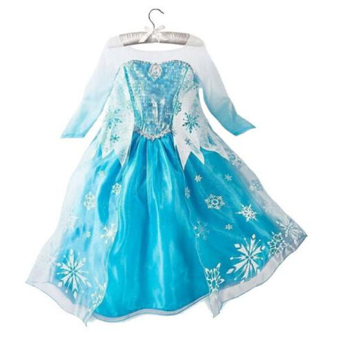 Kids Dress Princess Cosplay Costume Party