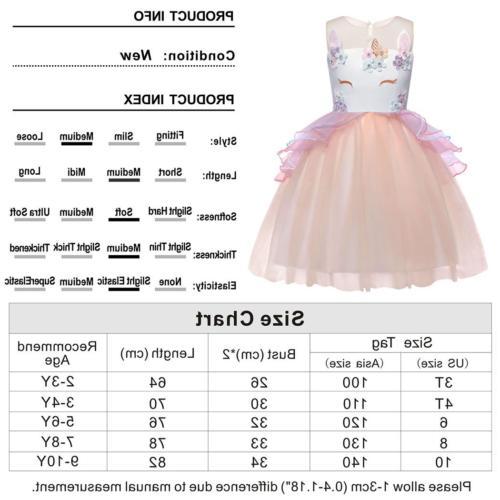 AmzBarley Flower Costume Dresses Kids
