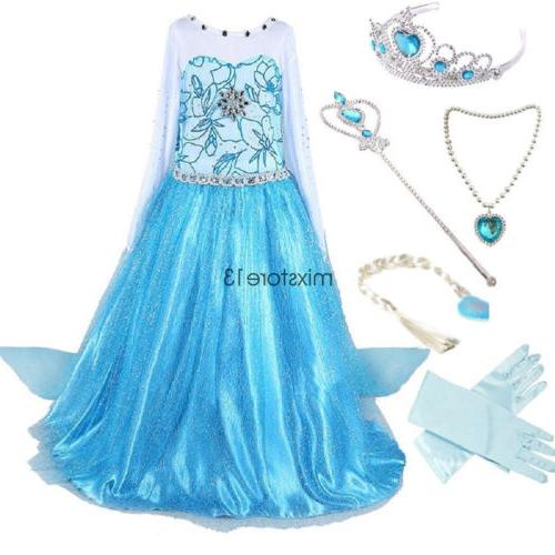 Girls Dress Party Costume