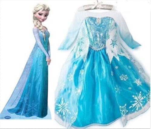Kids Girls Maxi Princess Dresses Cosplay