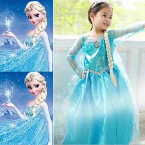 Girls Princess Dress Fancy Clothes