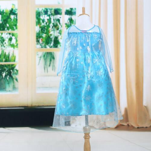 Girls Fancy Party Cosplay Clothes Kids
