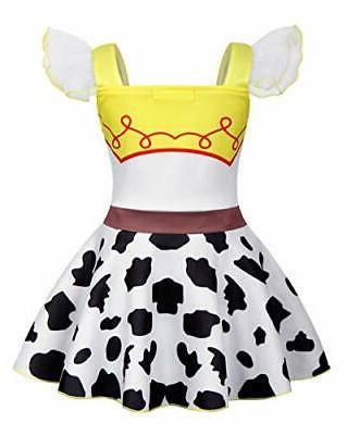 AmzBarley Girls Princess Cowgirl Outfit Holiday ...