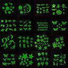 Glow In The Dark Luminous Fluorescent Plastic Wall Stickers