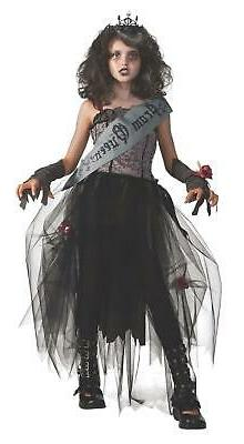 gothic prom queen child girls costume size
