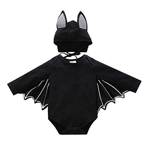 h and zy kids black bat halloween