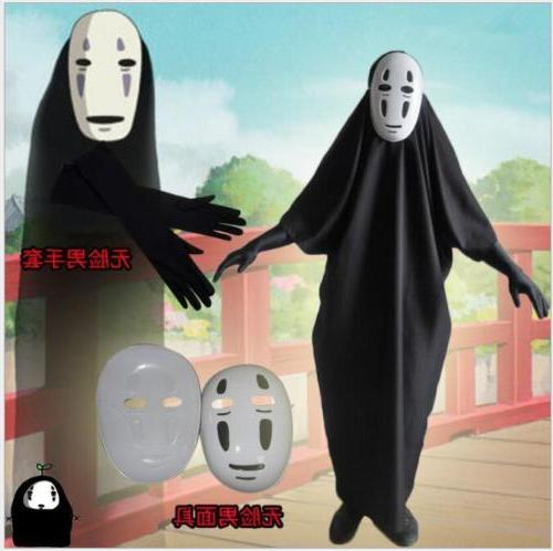 Halloween Costume Spirited Away Cosplay Costumes  no-face me