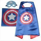 Halloween Costume Superhero Captain America Cape and Mask fo