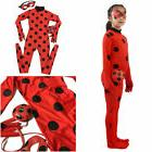 Halloween Kids Miraculous Ladybug Cosplay Costume Romper Cat