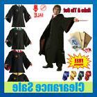 Harry Potter Hogwarts Adult Child Robe Cloak Scarf Tie Set S