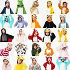 HOT Children Kid Pajamas Kigurumi Unisex Cosplay Animal Cost