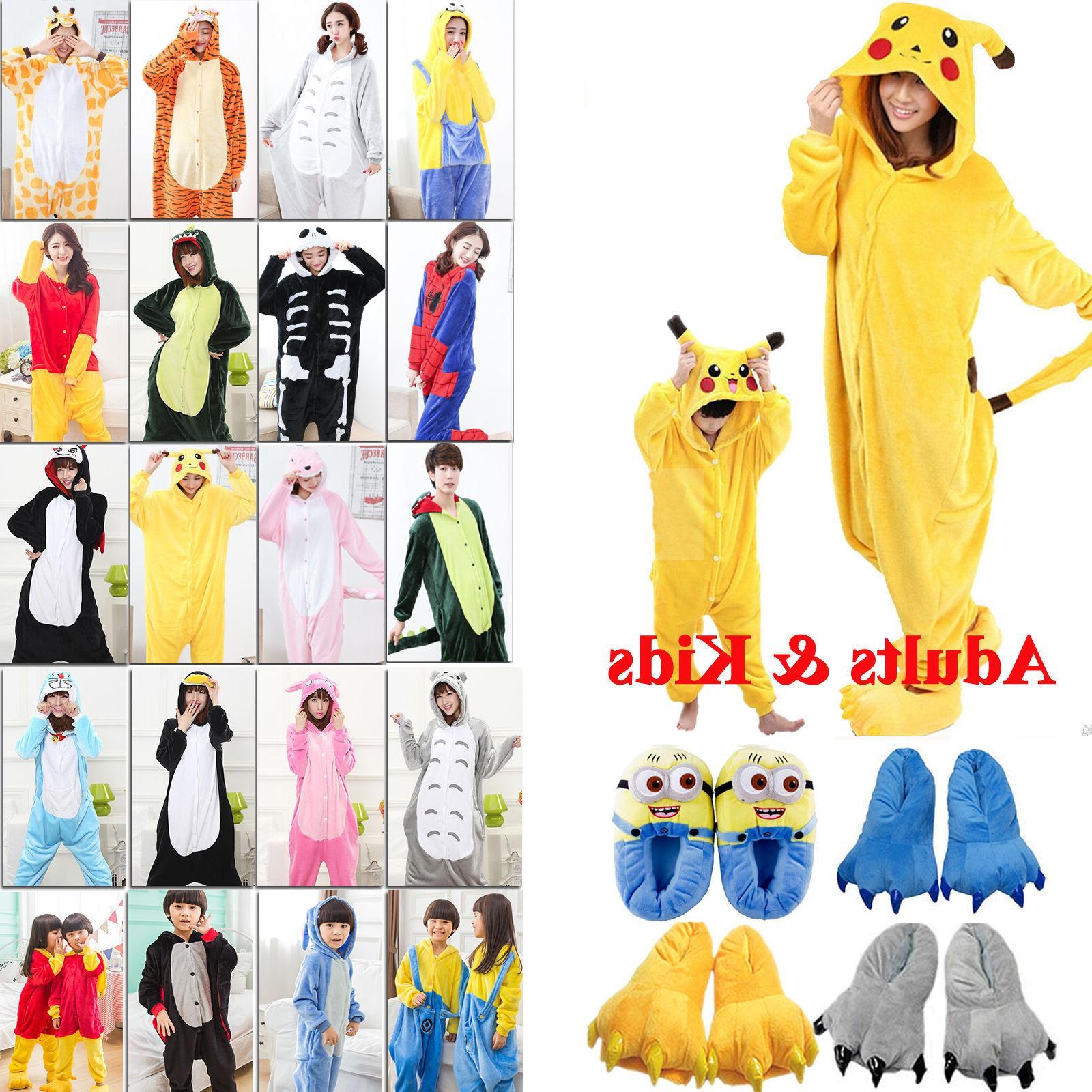 Hot Kigurumi Pajamas Sleepwear Costumes Unisex