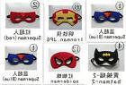 hot Superhero Mask Children Cape Costume dress spiderman Cap