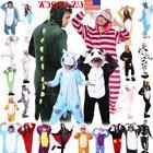 Hot Unisex Adult Kids Pajamas Kigurumi Cosplay Costume Anima