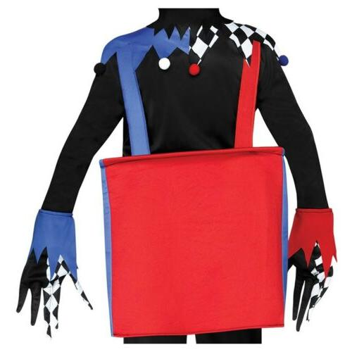 Jack in the Box Costume Jester Halloween