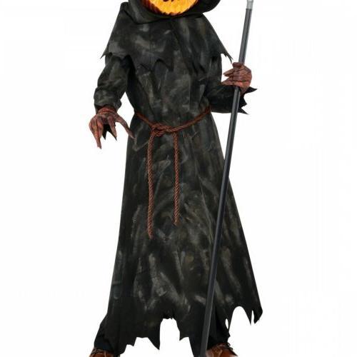 Jack Kids Pumpkin Reaper Halloween Fancy Dress