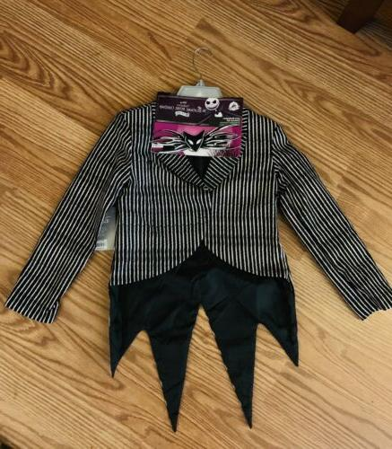 jack skellington costume jacket kids size 7