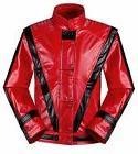 Michael Jackson Thriller Jacket Men Kids MJ Red Leather Coat