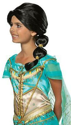 Jasmine Disney Princess Disguise Child Costume Wig