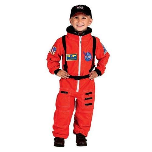 jr astronaut suit kids costume w cap