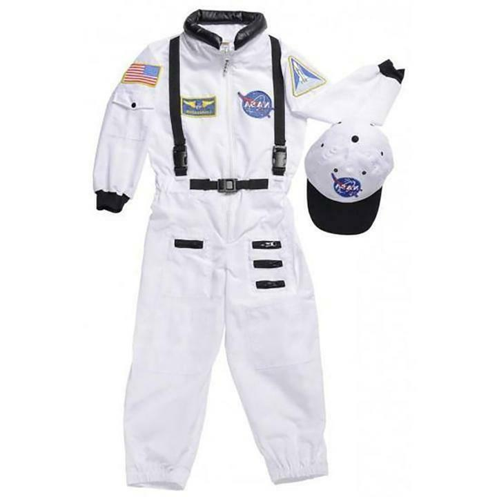 Aeromax Astronaut White Costume with and patches