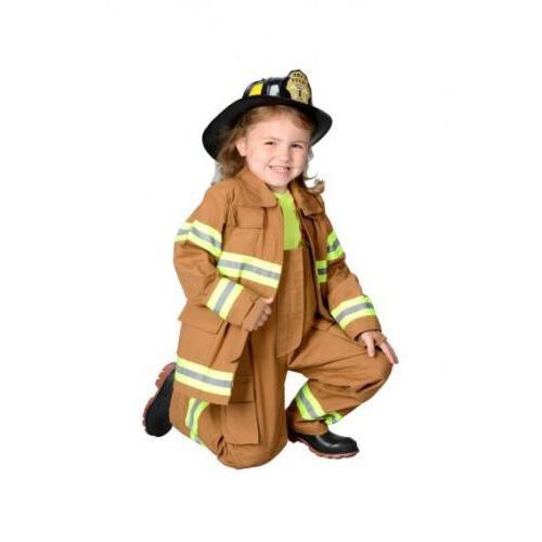Jr. Fireman Deluxe Child Suit Helmet Aeromax FFT