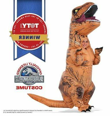 jurassic world t rex inflatable