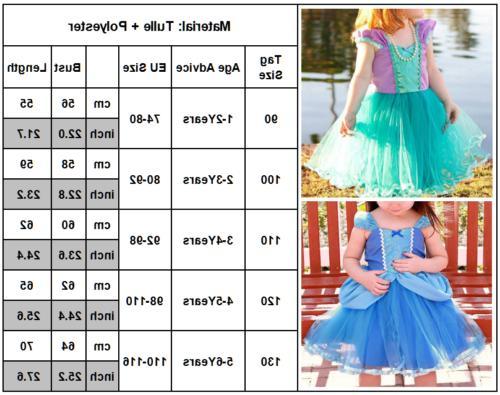 Kid Princess Snow Costume