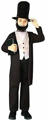 Kids Abraham Lincoln Costume - Small