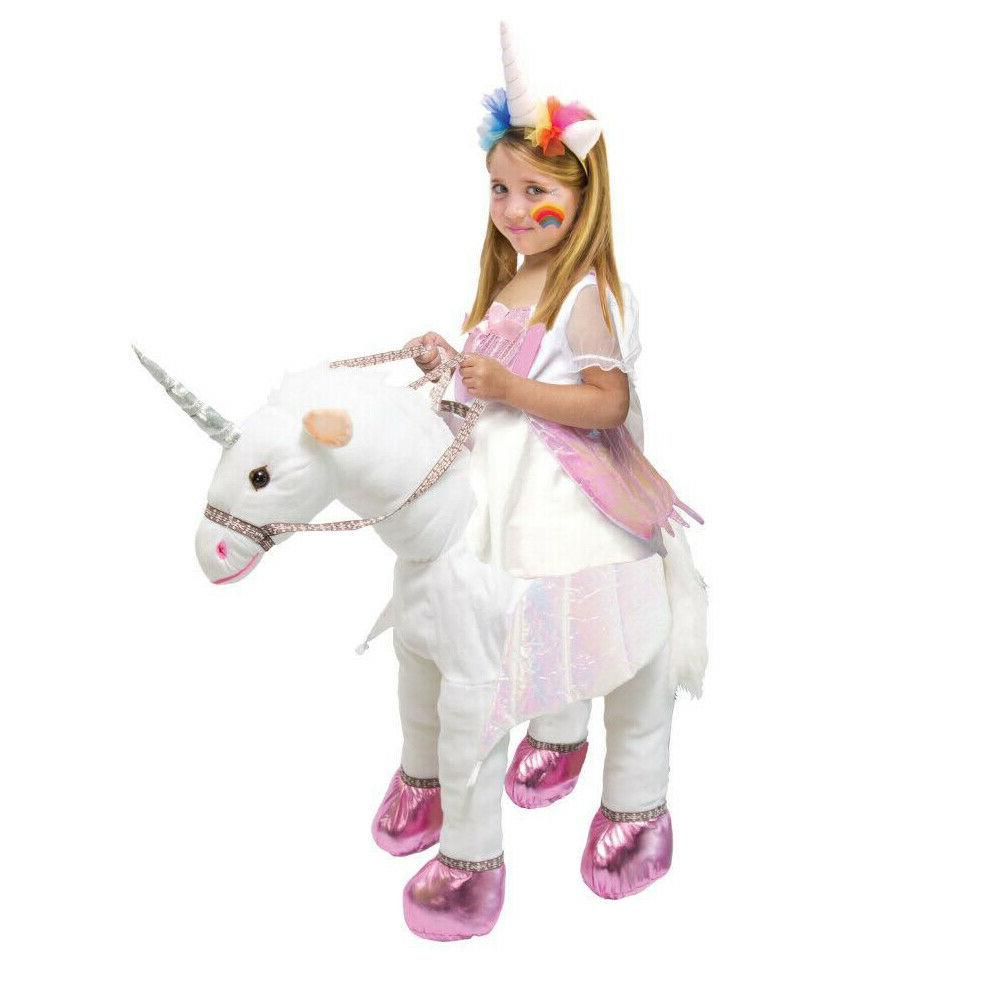 Kids Animal Unicorn Horse Halloween Fancy Outfit Dress Up Co