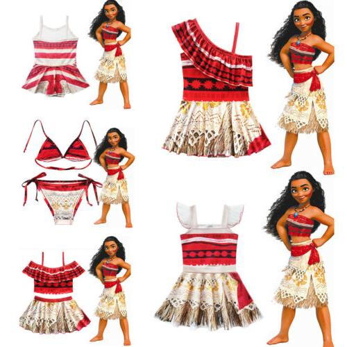 Kids Princess Swimwear Bikini Costume