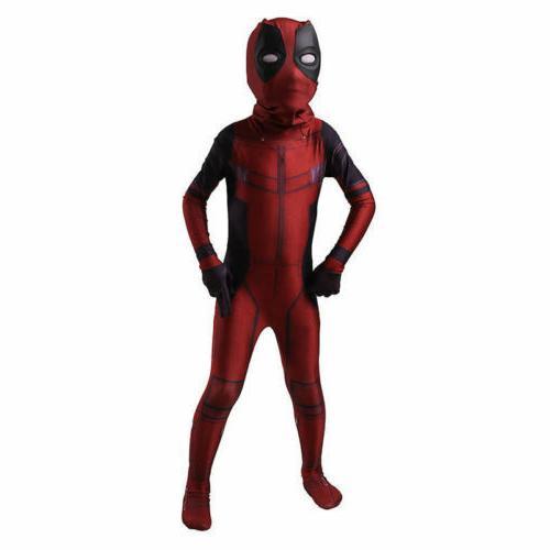 Kids Boys Child Zentai Costume Fancy Bodysuit@