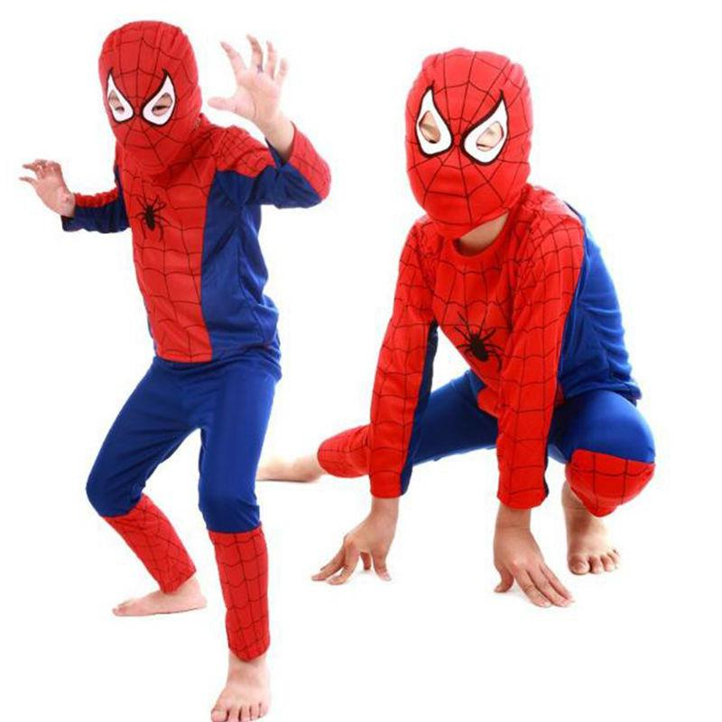 us ship kids boys spiderman cosplay costume