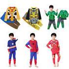 Kids Boys Superhero Costume Sleepwear Kids Pajamas Children