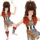 Kids Cave Girl Fancy Dress Costume