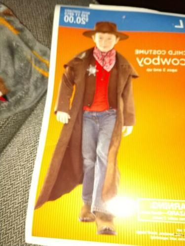 Large Wild Sheriff Hat Coat