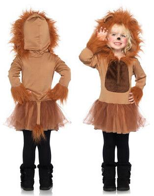 kids cuddly lion girls halloween costume