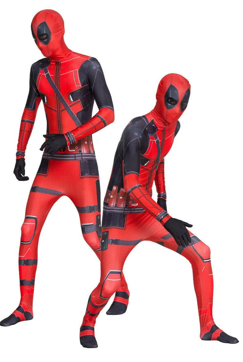 US Deadpool Jumpsuits Kids Boys Bodysuits