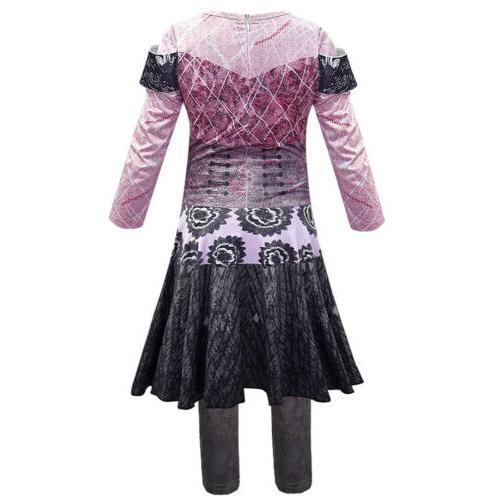 HOT Descendants Audrey Mal Jumpsuit Dress For Halloween
