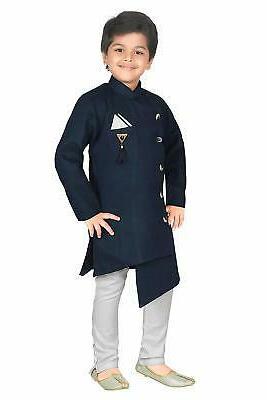 ahhaaaa Indo Kurta Set Navy, Size 0.0 oEBk