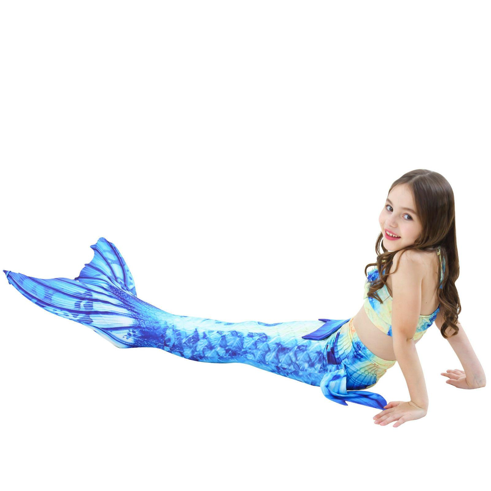 Kids Tail Bikini Tail Swimwear Costumes