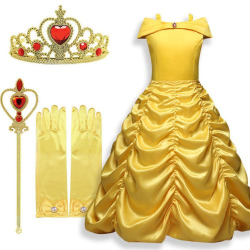 Kids Dress Beauty and the Belle